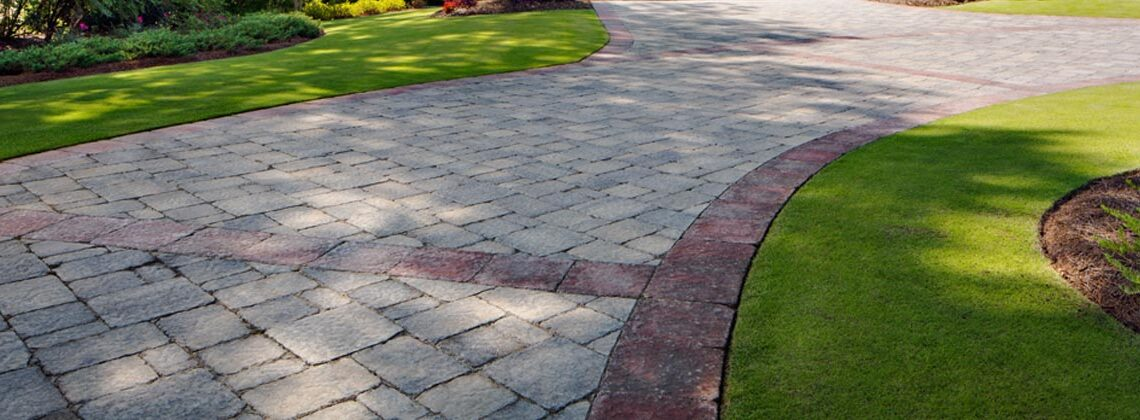 Stone Paver Patio and Walkways